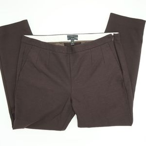J Crew Martie Brown Dress Pants Stretch